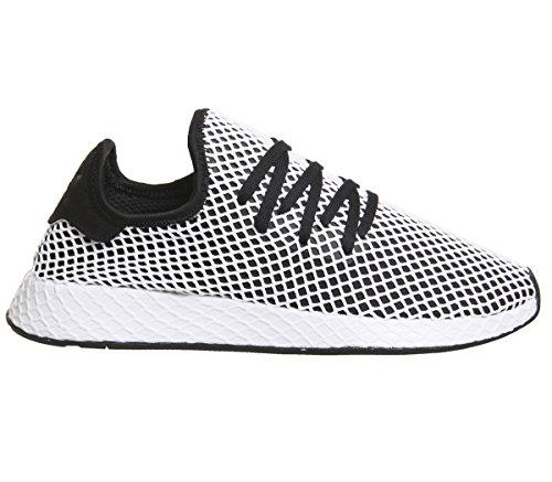 Scarpe Basse Adidas Unisex Sneakers Basse Cq2626 Runner Bianco