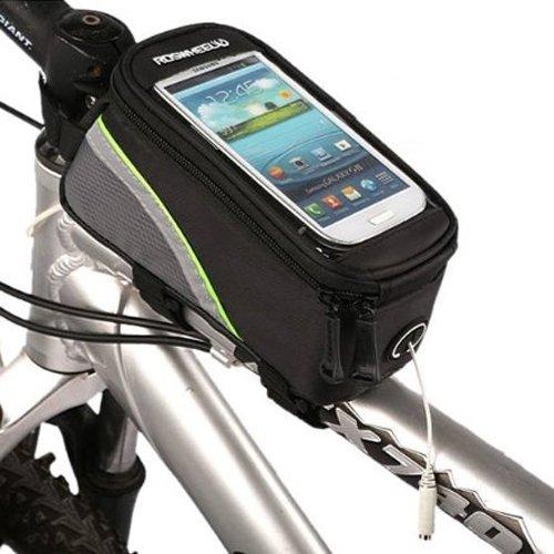 Roswheel Fahrrad Steuerrohr Taschen S(gruen Schwarz)