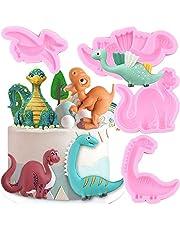 Cartoon Giraffe Dinosaur Silicone Mold Candy Chocolate Fondant Molds Baby Birthday Cake Decorating Tools DIY Cookie Baking Mould