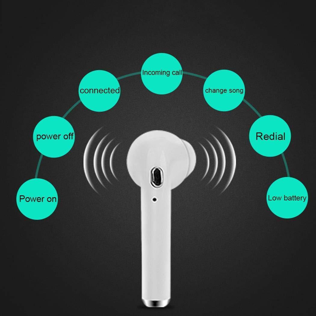 vobome Écouteurs Bluetooth, Écouteur sans Fil Bluetooth, Etanche Écouteur Bluetooth Sport Son Stereo Oreillette Bluetooth avec Mic et 1000mAh Etui de Charge pour iOS & Android