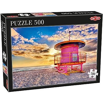 Tactic Miami Puzzel 500 Pcs 500pcs Puzzles Jigsaw Puzzle Landscape Children Adults Boygirl 9 Yrs Dutch