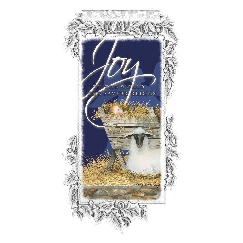 Heritage Lace Nativity Joy 12-Inch by 21-Inch White Wall Hanging