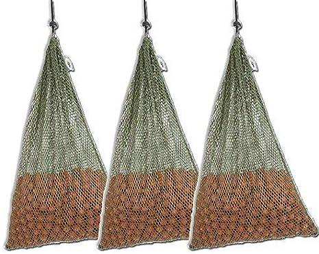 NGT x 2 large Mesh Air Dry Boilie Bags 30 x 45cm carp//coarse fishing