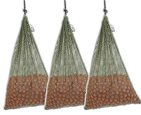 3x NGT Carp Fishing Air Dry 30 x 45cm Large Boilie Sack Bags 5kg Capacity Set