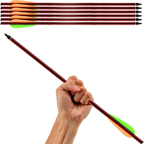 Aluminum Arrows Crossbow Arrows Hunting Survival