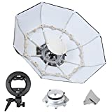 "Fomito Foldable Beauty Dish Softbox with Bowens Mount inner White (Diameter: 70cm/ 28"")"