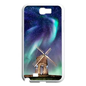 The Aurora Borealis Personalized Cover Case with Hard Shell Protection for Samsung Galaxy Note 2 N7100 Case lxa#380086