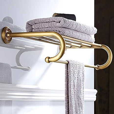 Durable HOME Bronce Estante para toallas Hardware Antiguo baño Colgante Toallero: Amazon.es: Instrumentos musicales