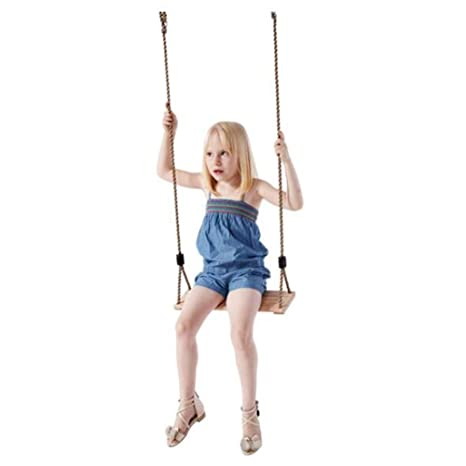 Phenomenal Amazon Com Outdoor Childrens Wooden Board Swing Pdpeps Interior Chair Design Pdpepsorg