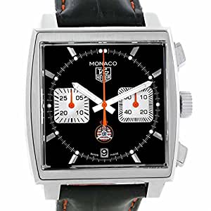 Tag Heuer Monaco automatic-self-wind mens Watch CAW211K.FC6311 (Certified Pre-owned)