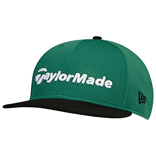 TaylorMade Golf 2017 performance new era 9fifty hat green/black