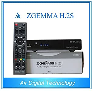 Superview Zgemma H 2s H2s Dual Core Twin Tuner Satellite Receiver With Full  7day EPG and IPTV Function - Excellent little box