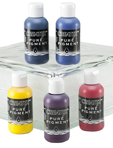 (Createx Colors Pure Pigment Color Theory Set, 2 oz.)