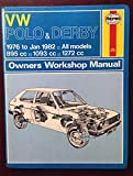 img - for VW Polo & Derby Owners Workshop Manual book / textbook / text book