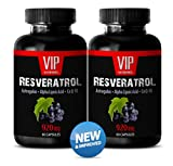 Product review for Supreme Resveratrol with Astragalus, Alfa Lipotic Acid & Co Q10 920mg- Natural Grape Seed Extract and Antioxidant (2 Bottles 120 Capsules)