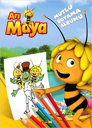 Ari Maya Mutlu Boyama Albumu Kolektif 9786050916867 Amazon