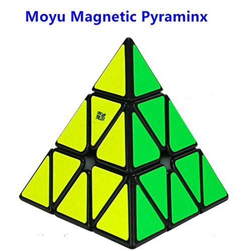 CuberSpeed MoYu Magnetic Pyramid Black Magic cube Magnetic Pyramid Black Speed cube