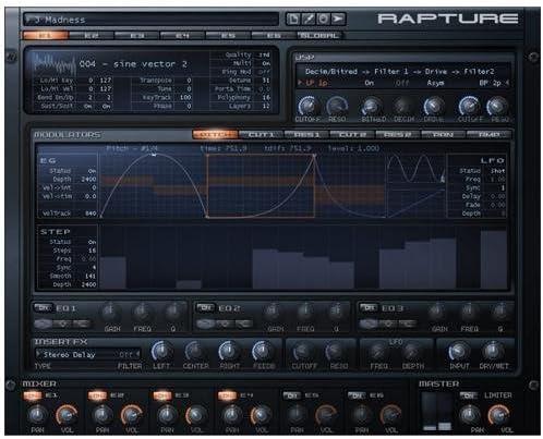 B000ETMGJK Cakewalk Rapture Synthesis Ignited Virtual Instrument 51mNsnB2BeLL.