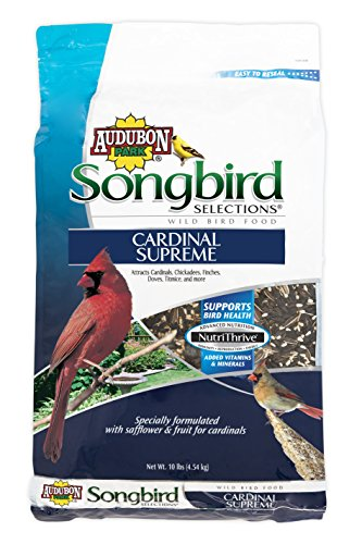 - Songbird Selections 11968 Cardinal Supreme Wild Bird Food, 10-Pound