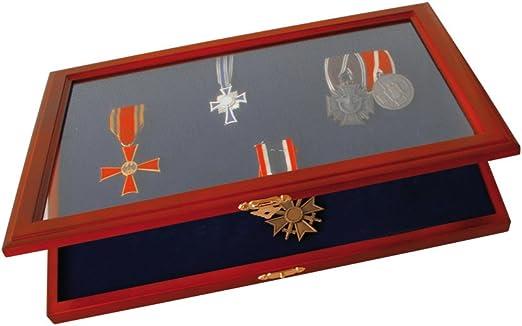 SAFE Vitrina de Madera Segura para medallas e Insignias de Honor: Amazon.es: Hogar