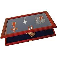 SAFE Caja de Madera Segura para medallas e