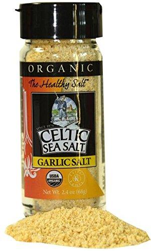 (Celtic Sea Salt Organic Garlic Shaker, 2.4 Ounce)