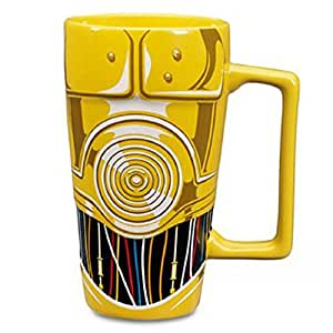 Star Wars Cup Ceramic Tall Latte Coffee Mug C3po