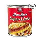 Loma Linda - Plant-Based - Super Links (96 oz.) (Pack of 3) - Kosher