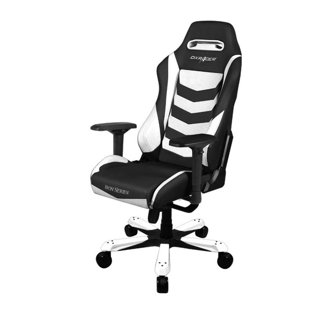 DXRacer Iron Series Gaming Chair - Black/White - H/IS166/NW