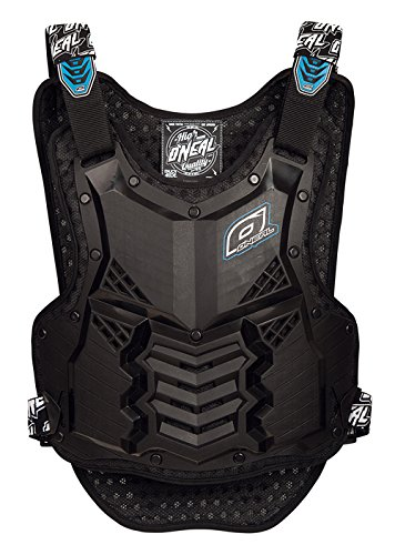 O'Neal 1285-004 Holeshot Chest Protector (Black, Medium/Large) by O'Neal