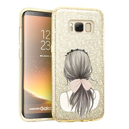 (Samsung Galaxy S8 Plus Case Soft Shell + Hard Shell Bling Sparkle for Galaxy S8 Plus (4, Samsung Galaxy S8 Plus))