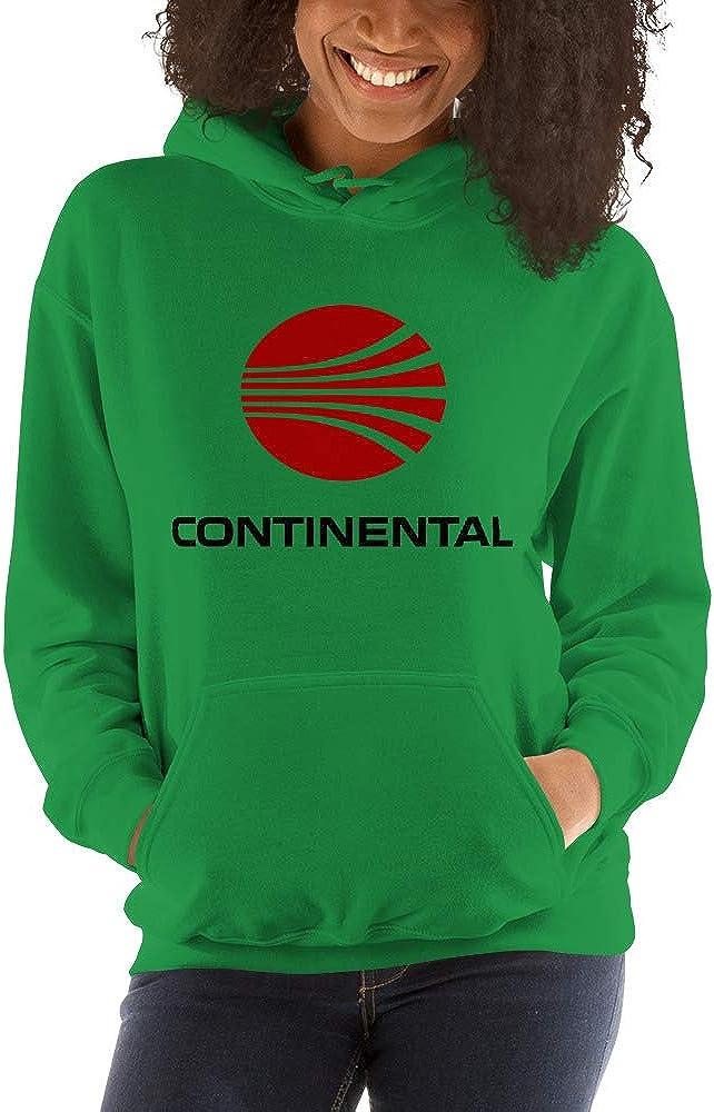 Continental Airlines Unisex Hooded Sweatshirt