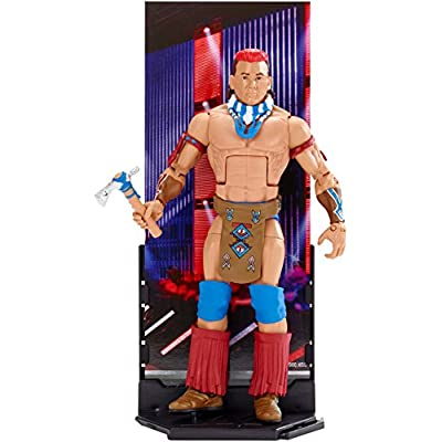 WWE Elite Collection Tatanka Action Figure: Toys & Games