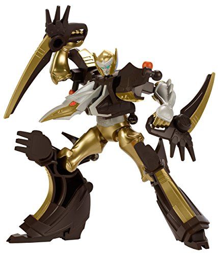Power Rangers - Mixx N Morph Dino Gold Ranger and Ptera Charge Megazord Action Figure Pack (Power Rangers Dino Megazord compare prices)