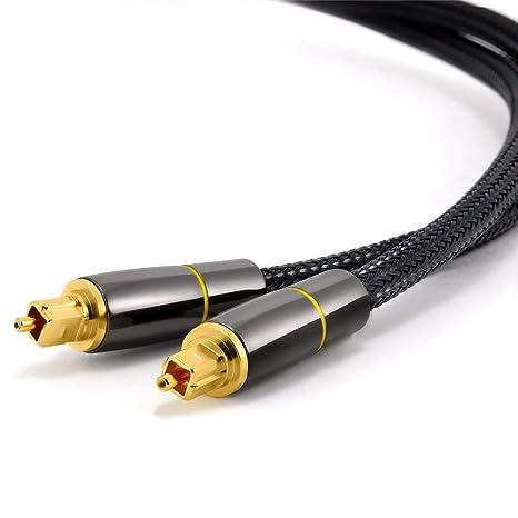 Línea de Audio de Fibra óptica Digital SPDIF Línea de Salida Amplificador de Potencia de 5.1