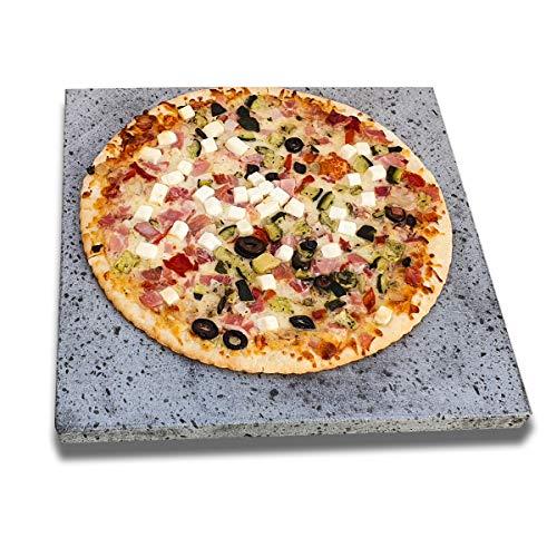 2 Piedras volcánicas auténticas para Pizza y barbacoas. Ideal para ...