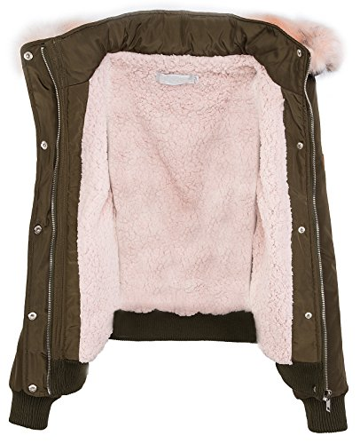 Femme Selection Khaki Blouson rosa Creek Rock 6tnqAA