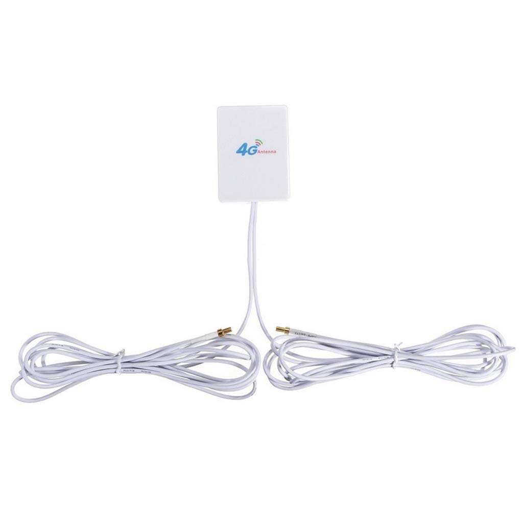 Babysbreath17 High Gain 4G 28 dbi / 3G LTE antenne Longue porté e ré seau exté rieur Signal Booster Routeur Ré cepteur Blanc 3# 73 * 52 * 8mm GFH150756314401