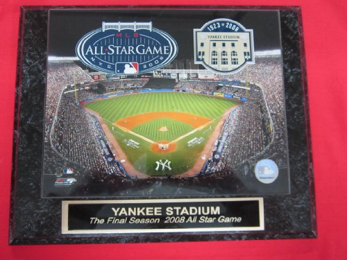 Yankee Stadium FINAL SEASON 2008 ALL STAR GAME Collector Plaque #1 w/8x10 Photo!