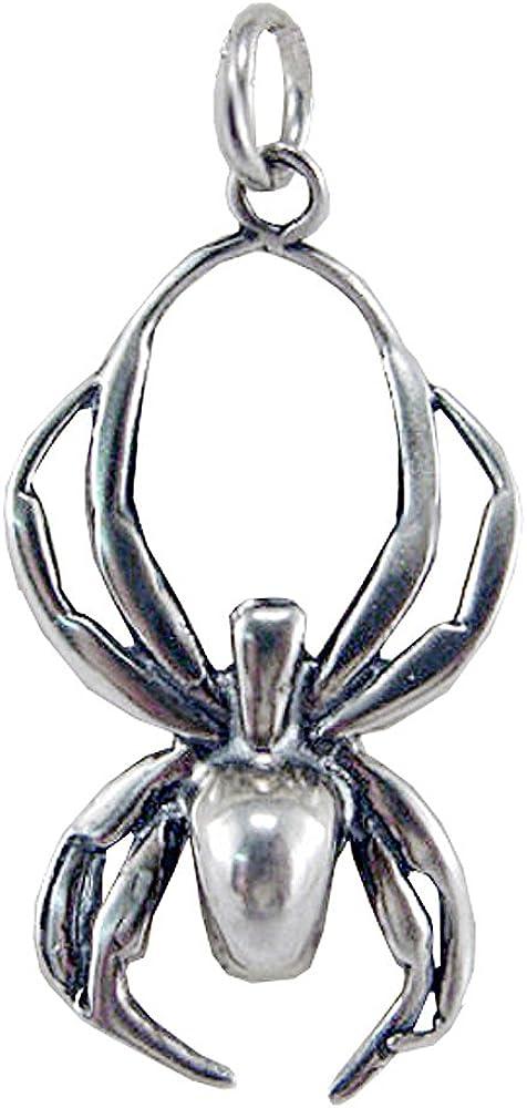 Sterling Silver Itsy Bitsy Spider Charm