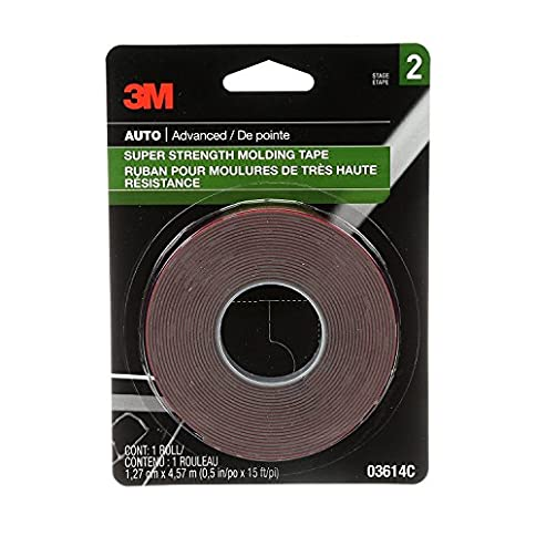 "3M 03616 Scotch-Mount 7/8"" x 15' Molding Tape - 51mNxWyGDML - 3M 03616 Scotch-Mount 7/8″ x 15′ Molding Tape"