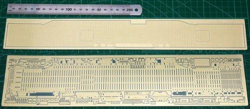1/700 米海軍エセックス級空母(短船体)スーパーセット