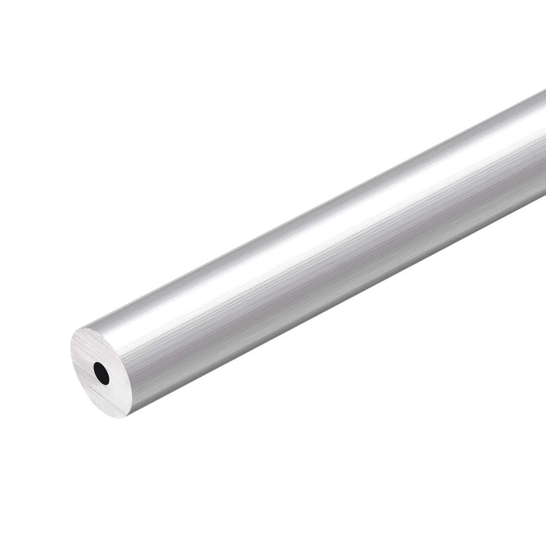 uxcell 6063 Aluminum Round Tube, 300mm Length 12mm OD 3mm Inner Dia Seamless Aluminum Straight Tubing