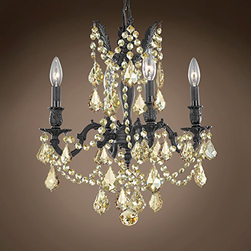 (Joshua Marshal 701578-007 - Traditional Versailles 4 Light 17