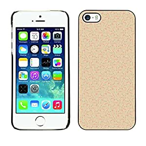PatternViking PC Polycarbonate Aluminium Back Case Cover Apple iPhone 5 / 5S ( music note )