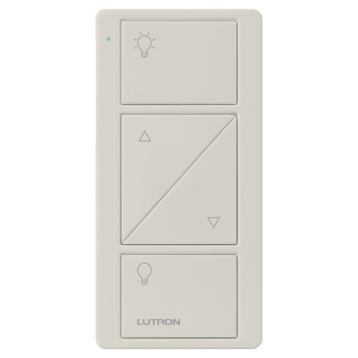 Lutron 2-Button with Rise/Lower Pico Remote for Caseta Wireless Smart Lighting Dimmer Switch, PJ2-2BRL-GIV-L01, Ivory - - Amazon.com