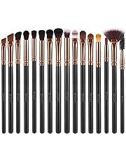 BESTOPE Makeup Brush Set 16 Pcs & 4 Makeup Sponges & 1 Brush Cleaner, Professional Makeup Brushes Beauty Blender Sponge Kit for Full Face Foundation Blending Kabuki Blush Concealer Eyeshadow Lip