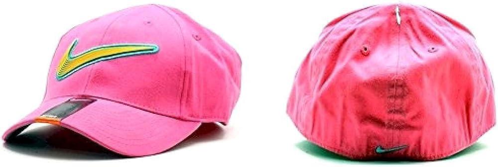 Nike Girls Embroidered Nike Swoosh Logo Baseball Cap Sz 4//6X