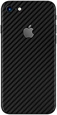 detailed look c18b5 d47d4 Premium Textured Vinyl Decal Skin Sticker Wrap Cover Body Compatible with  iPhone 8, iPhone 8 Plus, iPhone 7, iPhone 7 Plus by YoungMobileSkin (Carbon  ...