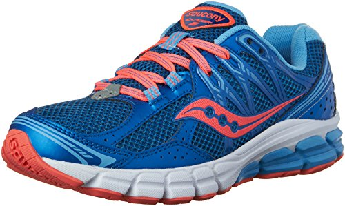 Saucony Women's Lancer 2 Running Shoe,Blue/Coral,US 9 M